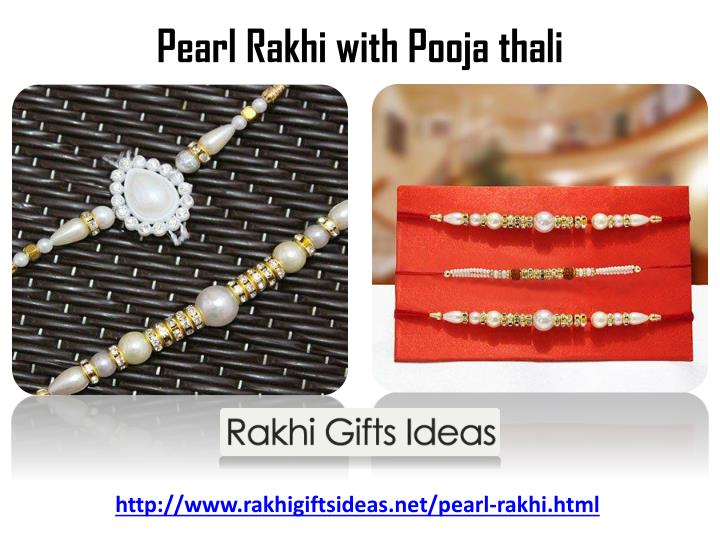 Pearl Rakhi with