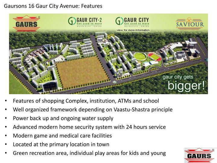 Gaursons 16 Gaur City Avenue: