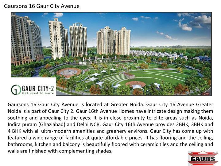 Gaursons 16 Gaur City