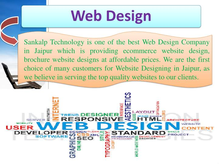 Sankalp Technology is one of the best Web Design Company in Jaipur which is providing ecommerce website design, brochure website designs at affordable prices