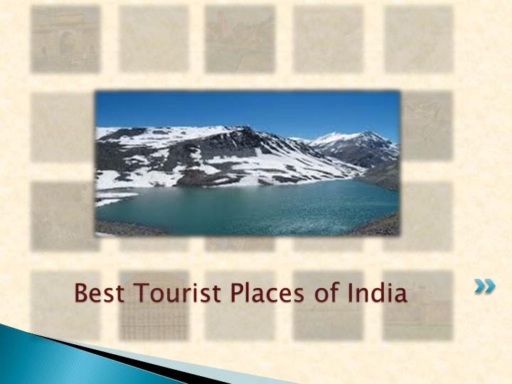 Best Tourist Places of India