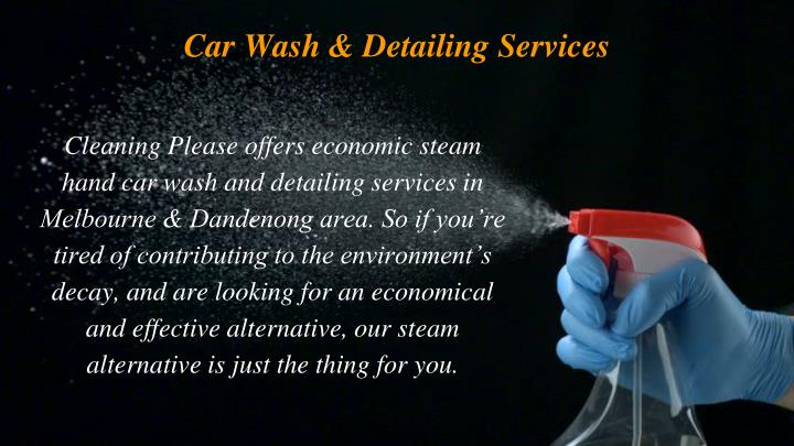 Car Wash & Detailing Services