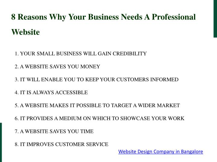 8 Reasons Why Your Business Needs A Professional Website