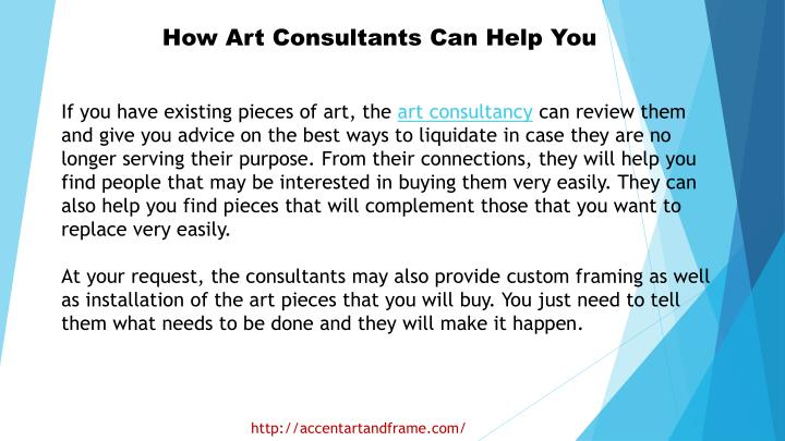 How Art Consultants Can Help You