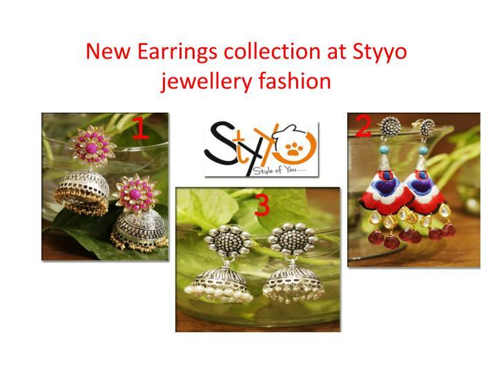 Stylish earrings for girls