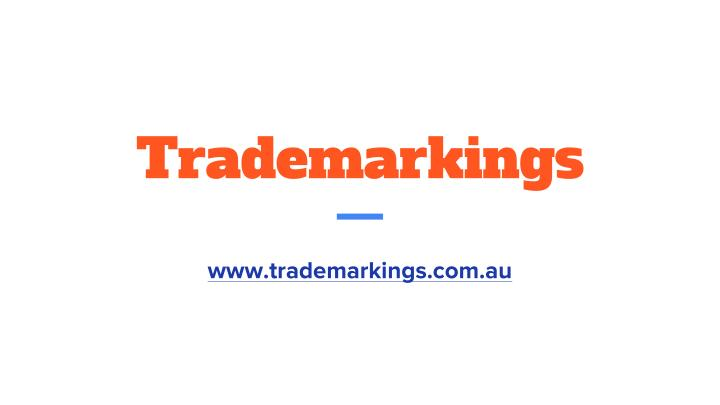 Trademarkings