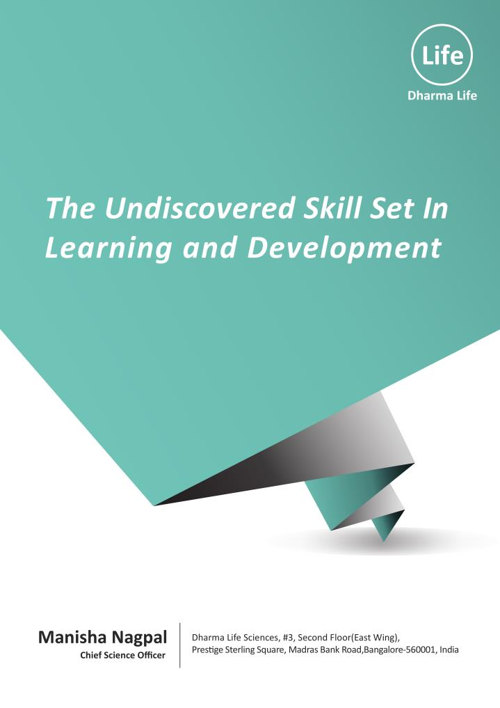 The Undiscovered Skill Set In