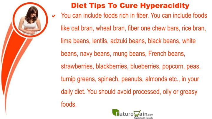 Diet Tips To Cure Hyperacidity