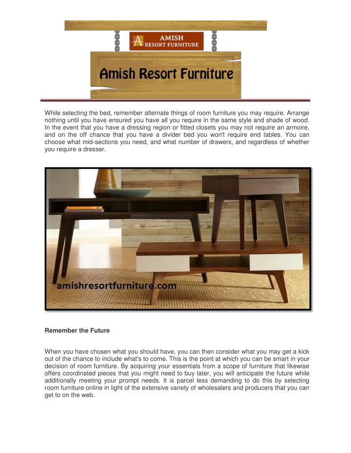 Ppt Advantages Of Selecting Wood Furniture Online Powerpoint Presentation Id 7384521