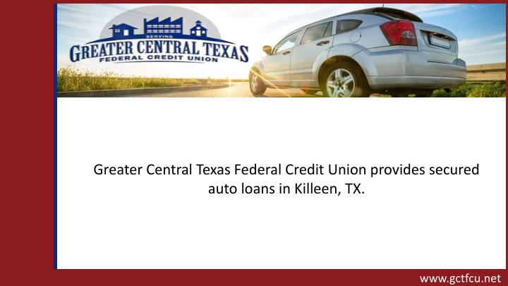 PPT - Secured Auto Loan In Killeen, TX PowerPoint Presentation - ID ...