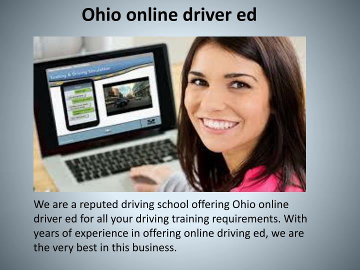 Ohio online driver ed