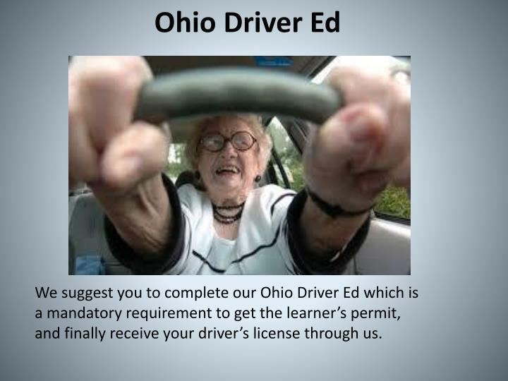 Ohio Driver Ed