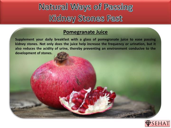 Kidney Stones Remedy