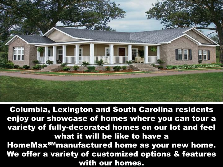 Ppt get different manufactured homes sc powerpoint for Home builders lexington sc