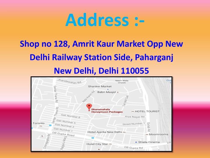 Address :-