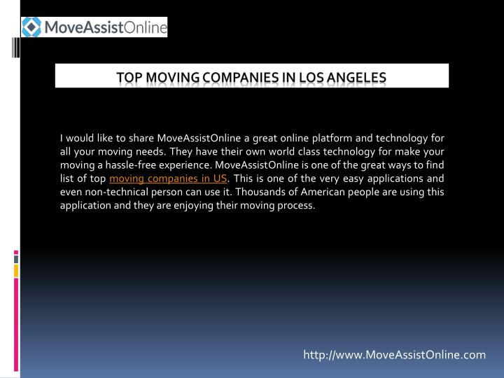 Ppt  2016's Top Moving Companies In Los Angeles. Medical Technical Careers Vacuum Rug Cleaner. The Cloud Architecture Spousal Life Insurance. All Season Tires Toronto Marshall School Loop. Cleveland Dui Attorney United Airlines Lounge. Coupon Printing Company 3 D Graphics Software. Physical Therapy Schools Florida. The Perfect Business Card Web Designing Class. Benefits Of Cloud Computing For Business