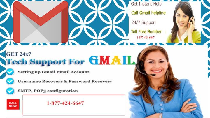 Gmail technical support number 1 877 424 6647