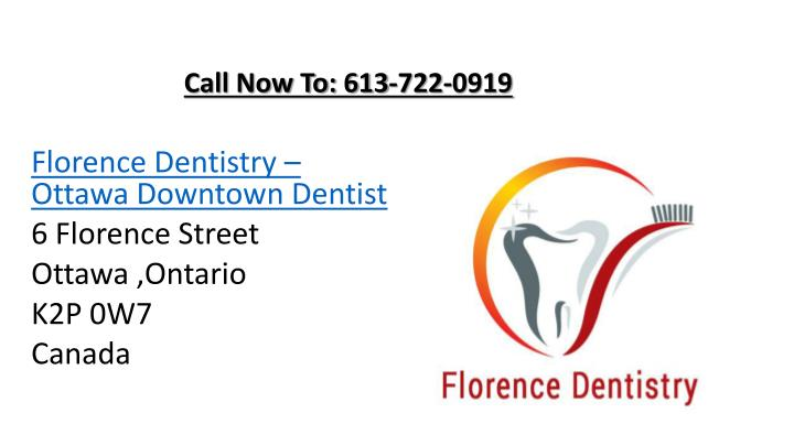 Call Now To: 613-722-0919
