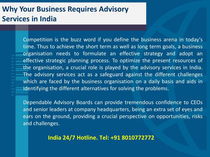 Forex advisory services india
