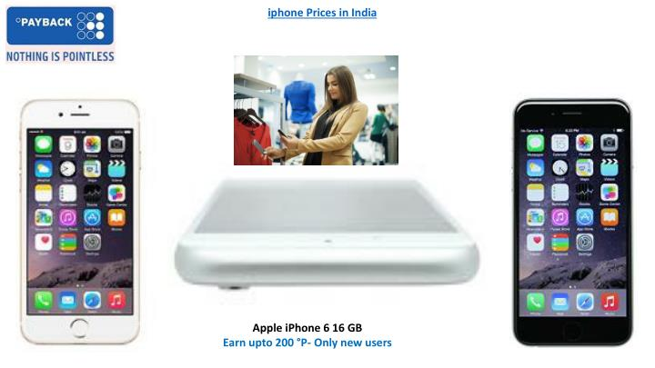 iphone Prices in India