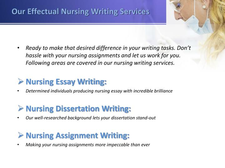 help with writing nursing assignments Do my nursing assignment help with nursing assignment theuniversitypaperscom team has the needed expertise to provide you with the needed nursing assignment help.