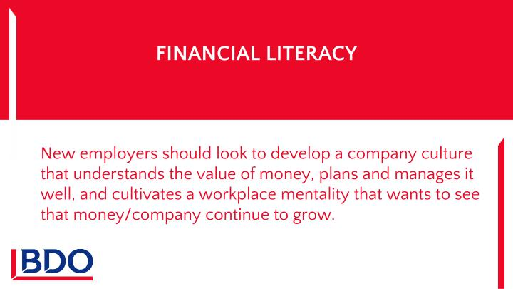FINANCIAL LITERACY