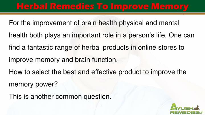 Supplements to improve short term memory loss photo 4