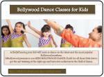 bollywood dance classes for kids