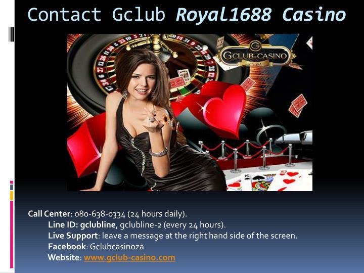 gclub live casino online