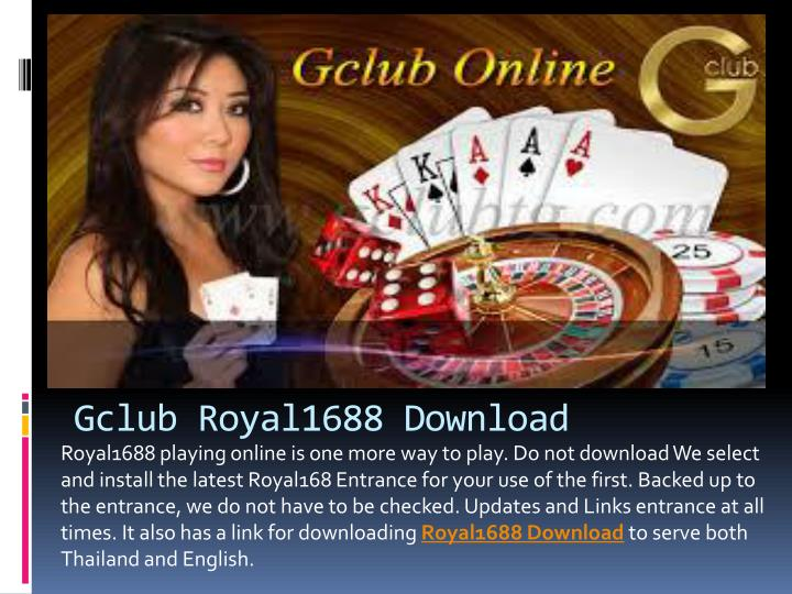 Gclub Download PC and Mobile - Online Casino