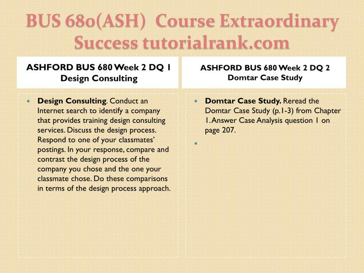 bus 680 week 3 case analysis Ashford bus 680 week 3 css case analysis assignment research study and method ashford bus 680 week 3 css case 2016 action auto parts - rochester, ny used.