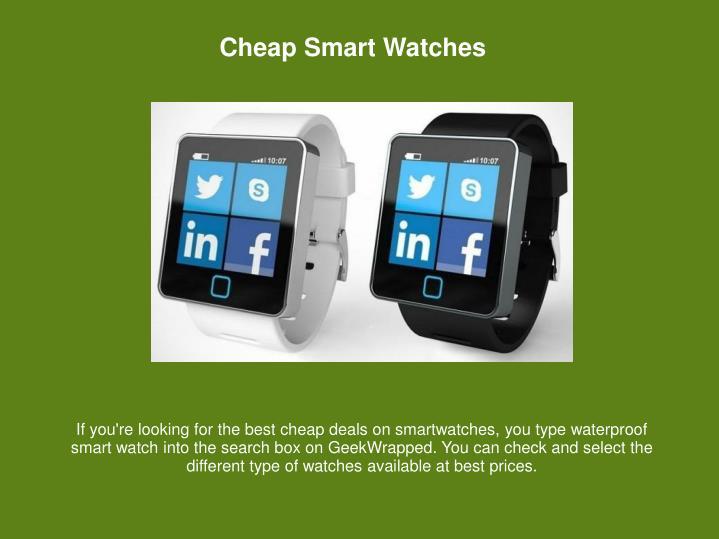 Cheap Smart Watches