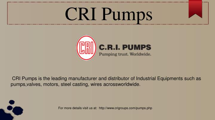 CRI Pumps