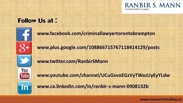 Follow Us at :