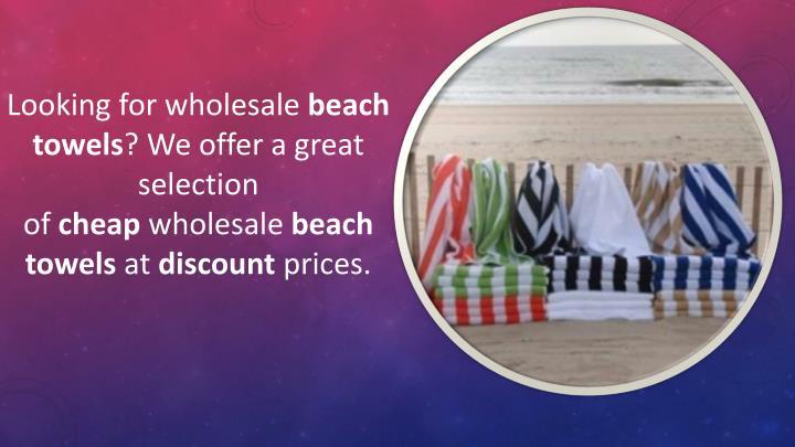 PPT - Discount beach towels PowerPoint Presentation