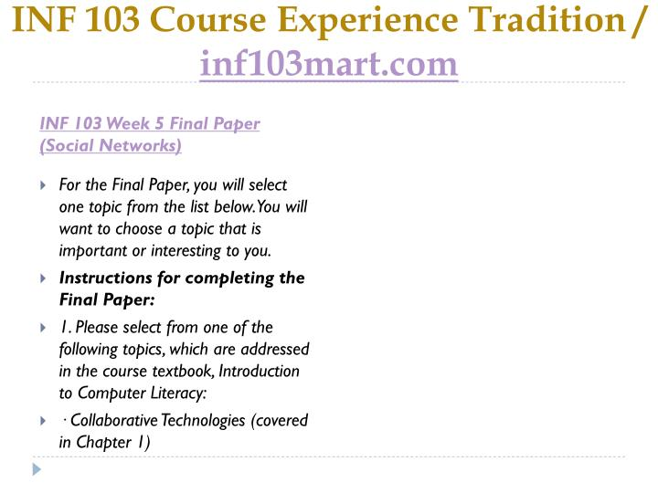 MGT 435 Full Week 5 (Final Paper, Discussions & Quiz)