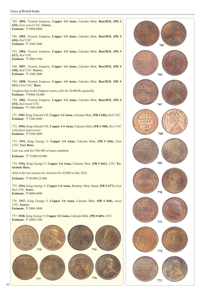 Coins of British India