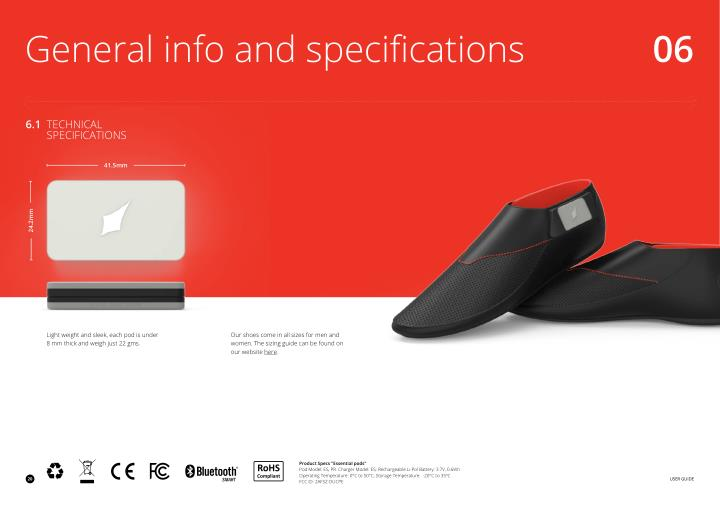 General info and specifications