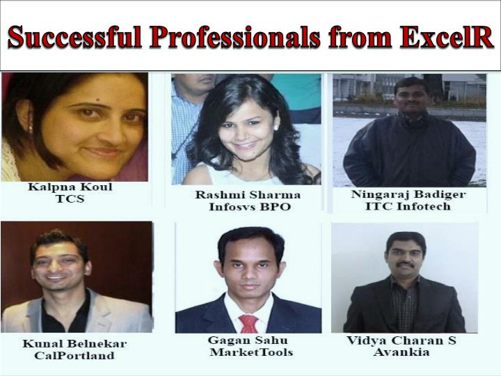 Successful Professionals from ExcelR