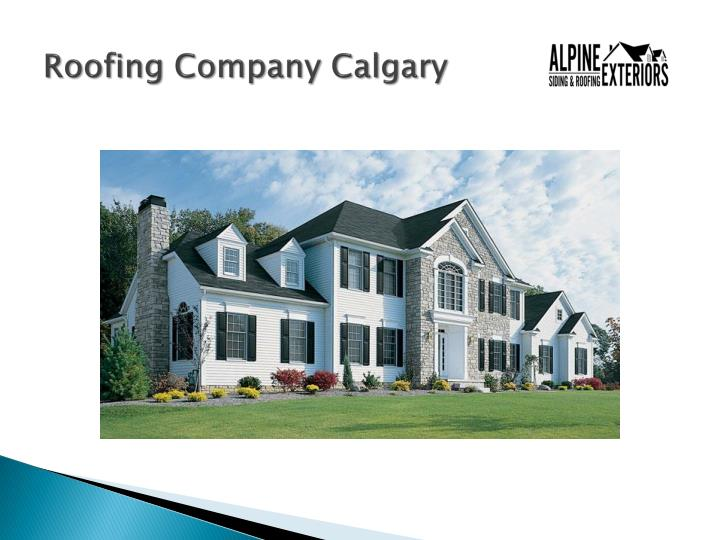 Ppt Alpine Exteriors Roofing And Siding Calgary