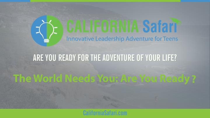 The world needs you are you ready summer training california learn silicon valley innovation