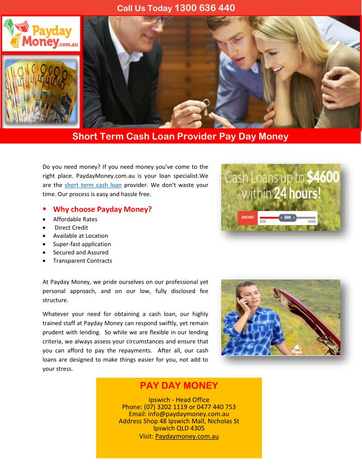 cash pay day loan - 2