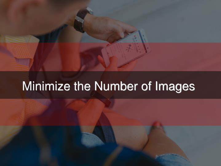 Minimize the Number of Images