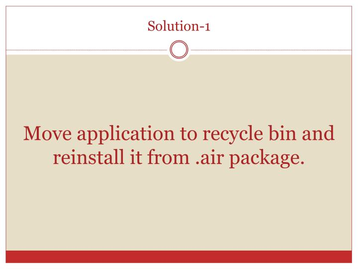 Solution-1