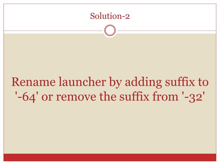 Solution-2