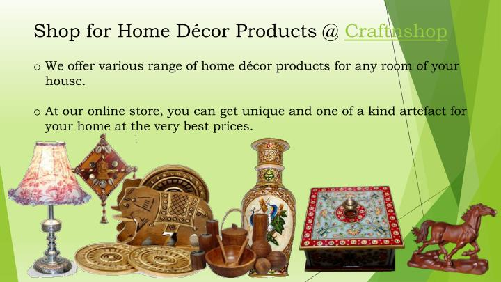 ppt buy home decor online india powerpoint presentation
