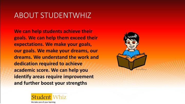 ABOUT STUDENTWHIZ