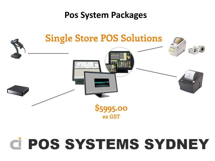 Pos System Packages