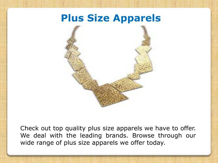 Plus Size Apparels