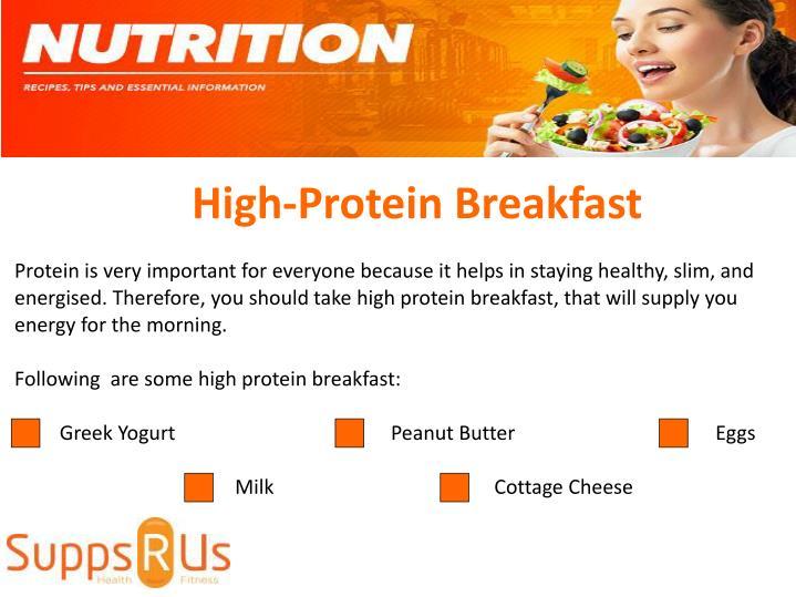 High-Protein Breakfast